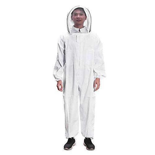 TiooDre Schutzbekleidung für Imker, Bienenzucht-Starter-Kit Leichte Bienenzucht-Ausrüstung Ideal für professionelle Imker-Anfänger
