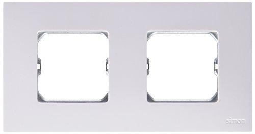 Simon 2700620-30 - Placa 2 mod.ancho o 4 estr. 2700620-30