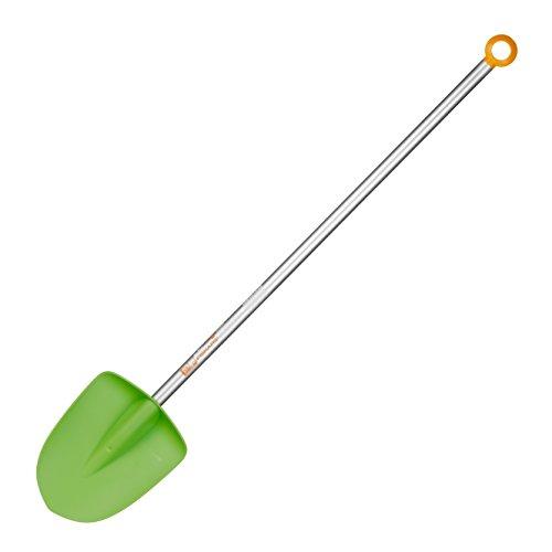 Fiskars Kinder-Spaten, Länge: 91 cm, Kunststoff-Blatt/Aluminium-Stiel, Grün/Orange, MyFirst Fiskars, 1001420