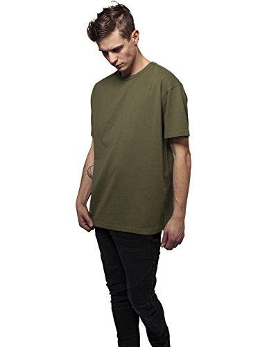 Urban Classics Herren T-Shirt Oversized Tee Grün (olive 176)