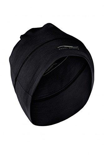 Engel Sports Mütze - wärmend, sportlich, stylisch | GOTS-zertifizierte Funktionswäsche (black) Sport Mütze