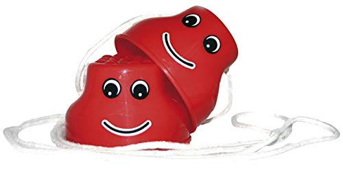 Topfstelzen Laufdollis extra dicker Kunststoff 6,5cm hoch bis 75kg belastbar