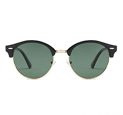 AOCCK Sonnenbrillen,Brillen, Vintage Polarized Sunglasses Men Women Retro Designer Driving Sun Glasses Classic Polaroid UV400 Mirror Sunglass Green