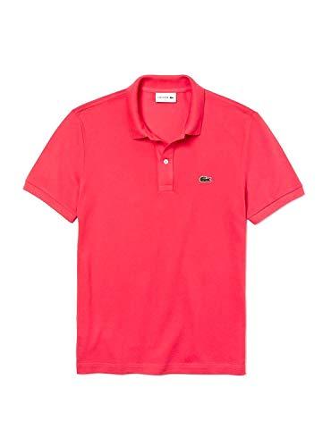 Lacoste Herren Poloshirt Slim Fit Kurzarm Beere (72) 5