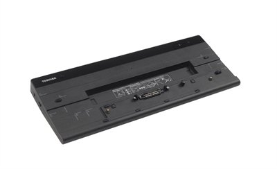Toshiba Pa (TOSHIBA Hi Speed Port Replikator III inkl Stabilitätsblock und AC-Adapter 2pol 120 W ohne Netzkabel)