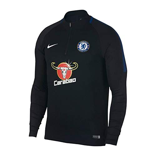 Nike 2017-2018 Chelsea Drill Training Top (Black) -