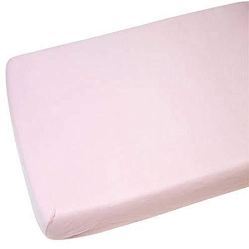 4X draps-housses Compatible avec Chicco Next 2Me 100% Cotton-pink
