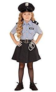 Polizistin Mädchenkostüm