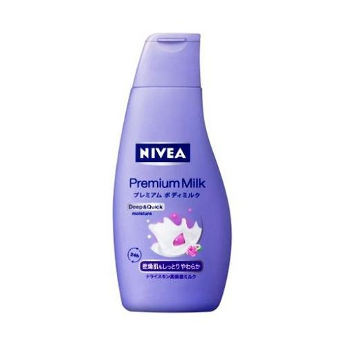 NIVEA Premium Body Milk 200g for Dry Skin (japan import)