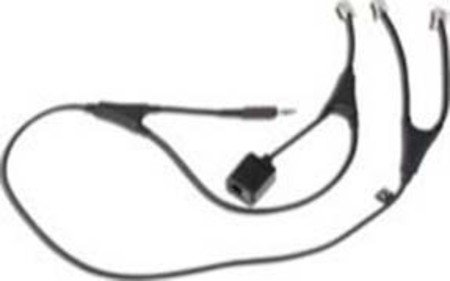 Jabra Link 14201-36 Alcatel MSH-Adapter für Jabra Go/Pro-Headsets mit Alcatel IP-Touch-Telefonen 4028/4038/4029/4039 Gn Jabra Headset-adapter