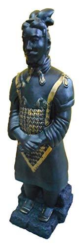 GOM PVC (Terrakotta) Armee Qin Krieger 70 cm bruchfest PVC Deko 90171