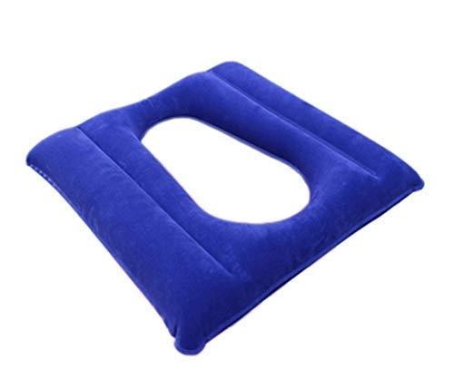 GHzzY Cojín de Aire para Pacientes con úlceras antiescaras - Cojín Inflable de Aire Adecuado para Silla de Ruedas, Silla de baño y Cuidado de la Cama para aliviar la presión
