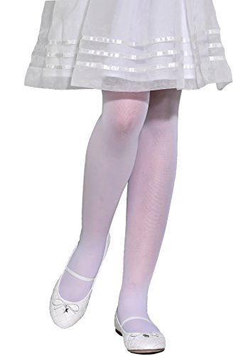 Girls sheer transparent tights 20 den