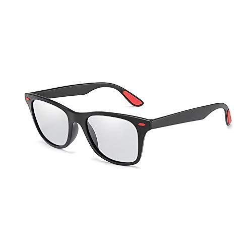 Polarisierte Farbänderung UV-Schutz Fahren Sonnenbrillen Sport Sonnenbrillen Fahrer Fahrspiegel Outdoor Sports Night Version Chameleon Photochrome Verfärbung Farbwechsel Brille