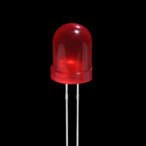 Redonda8 D Led Kingbright Rojo UnidadesColor L 793srd Lámpara Mm200 tChQrds