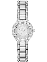DKNY Damen-Armbanduhr Analog Quarz Edelstahl NY2391