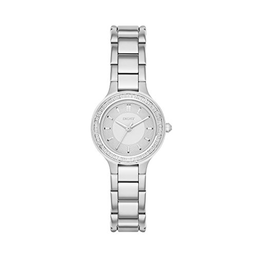 DKNY (DNKY5) Women's Quartz Watch with Silver Dial Analogue Display and Silver Stainless Steel Bracelet NY2391