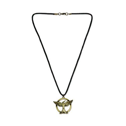 Preisvergleich Produktbild Hunger Games Mockingjay-Schnur-Halskette - Neuheit - CID