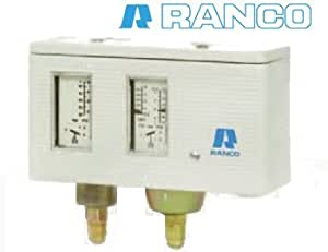 "Pressostat double automatique ""Ranco"" 017H4701"