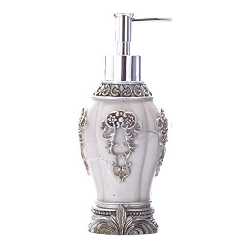Soap dispenser HFDIG Hand Sanitizer Flasche | ABS-Kunststoff | Hand Sanitizer Spültechnik Body Wash Shampoo | 180 ml | Weiß, Schwarz