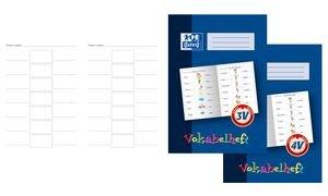 Oxford 100057955 Lernsysteme Vokabelheft LIN4V - A4, 16 Blatt, 4V (3-spaltig zum Malen)