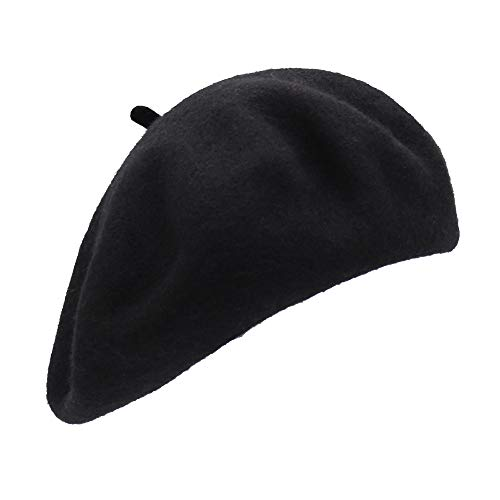 Französischen Baskenmütze (Schwarz) ()