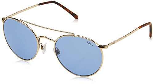 Polo Ralph Lauren Herren 0Ph3114 911672 51 Sonnenbrille, Gold (Blue),
