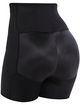 Everbellus Pantalones Moldeadores Fajas Levanta Gluteos Body Reductores Panty Efecto Vientre Plano