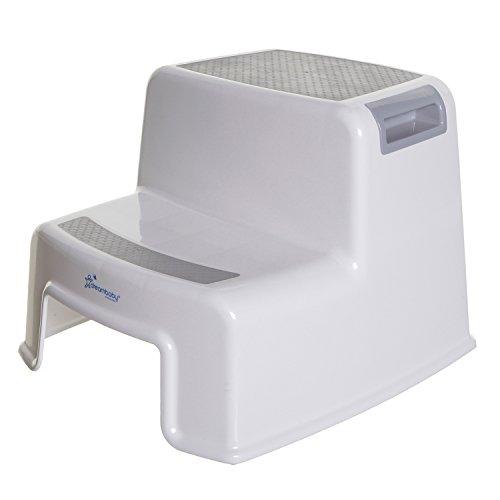 Dreambaby 2bis Schritt Hocker, grau, Modell: L687 (Schritt Hocker Kind Für Waschbecken)