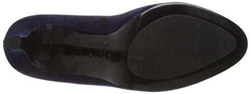 Peter Kaiser EDITA Damen Peep-Toe Pumps Blau (NOTTE SUEDE 104)