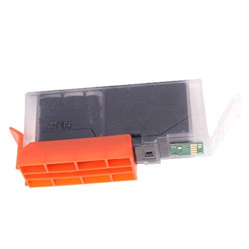 Homyl 570XL Ersatz Druckerpatrone Tinten Patrone für Drucker Canon PIXMA TS6050/6051/6052/5050/5051/5052/5053 (Schwarz)
