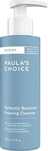 Paula's Choice Resist Anti Aging Foaming Cleanser | Cremig Gesichtsreiniger Bekämpft Unreine Haut & Mitesser | Entferner mit Hyaluronsäure | Akne Empfindliche Haut, Mischhaut & Fettige Haut (190 ml)