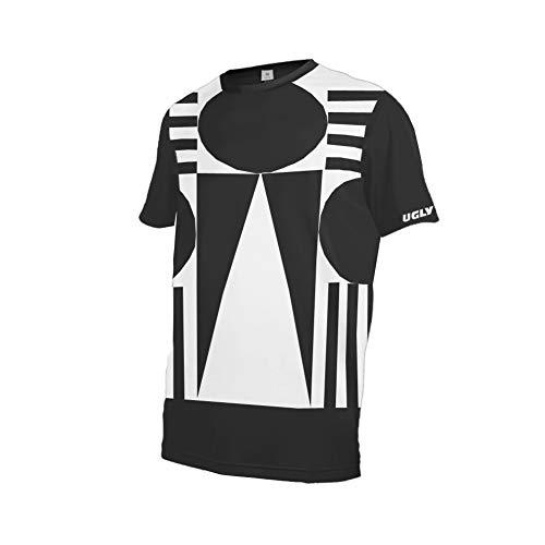 Uglyfrog Fahrrad Trikots & Shirts Bekleidung Herren - Radfahrer - Mountain-Bike - MTB - BMX - Biker - Rennrad - Outdoor - Downhill Jersey- Freeride - Special Designs Kurz/Langarm DEHerDownFT05 -