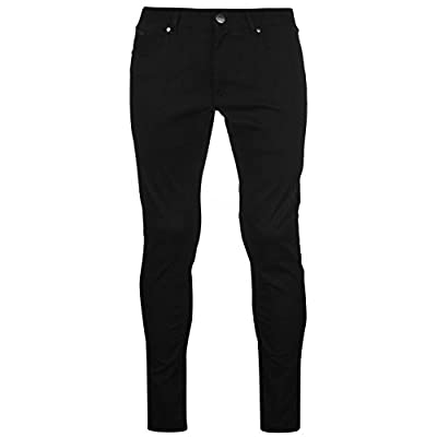 Firetrap Mens Stretch Skinny Jeans Zip Fly Denim Trousers Casual Pants Bottoms