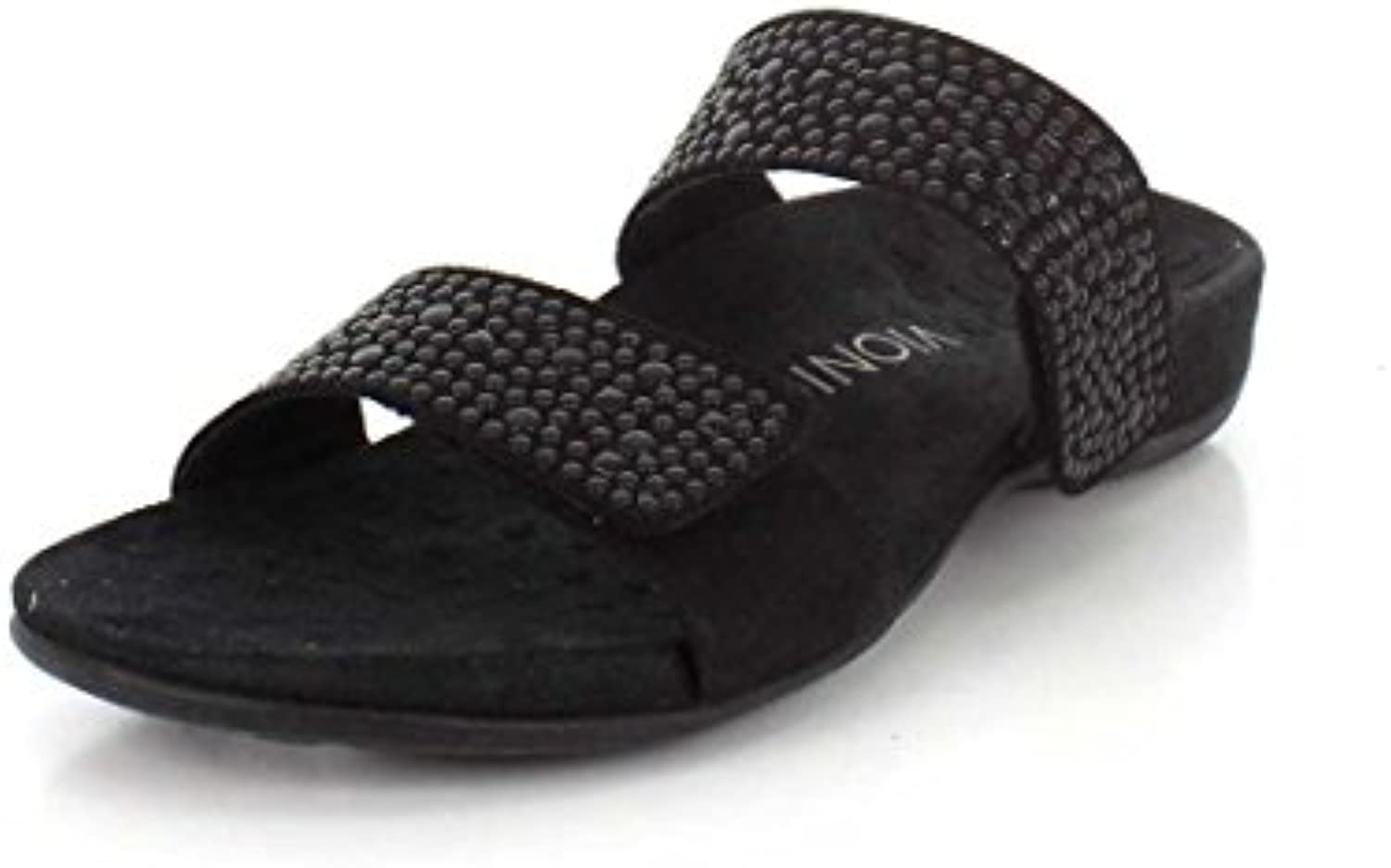 Vionic Vionic Vionic by Orthaheel Wouomo Samoa nero Leather Sandals 10 B(M) US | Design professionale