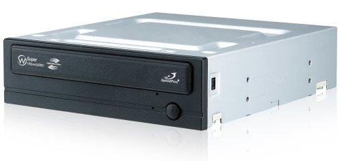 Samsung SH-S222L/BEBE interner DVD Brenner (+16x22x8x, 16x22x6x, Lightscribe, PATA) schwarz