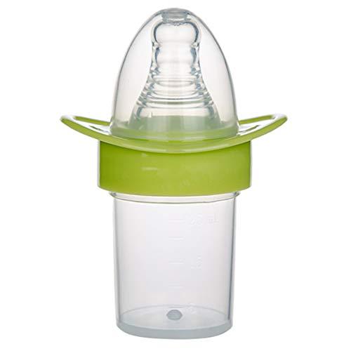 Zoylink Babyflasche Messung der Säuglingsflasche Nippeltyp Trinkflasche für Wasser