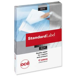 Canon A3 80 GSM Standard ECF Yellow Label Paper (Pack of 500)
