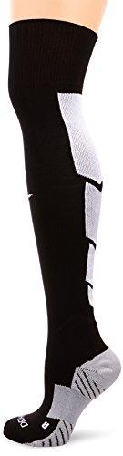 socken Knee High Match Fit Elite OTC, schwarz/wolf grau/weiß, M, SX4855-010 ()