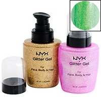NYX Glitter Gel - Lime Green BGG06