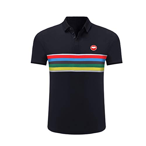 Uglyfrog Bike-T Herren Fahrradtrikot,Outdoor Männer Kurzarm Performance Poloshirt, atmungsaktives Sportshirt für Männer, Komfortables Funktionsshirt Polo Fahrradkleidung Für Rennrad,Radsport