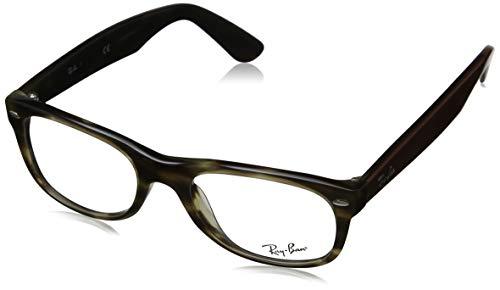 Ray-Ban Unisex-Erwachsene 0RX5184 Brillengestelle, Braun (Havana Green), 50