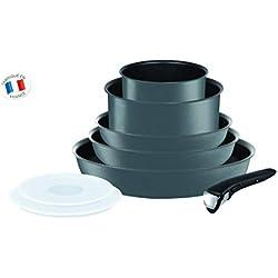 Tefal Ingenio Performance Gris Batterie de Cuisine 8 Pièces Tous Feux Dont Induction L6589403