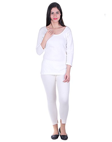DREAMDROP WARMERS Women's White Thermal Set