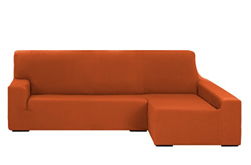 Martina Home Tunez Schutzhülle Sofa für Chaise Longue, 32x 17x 42cm Langer rechter Arm (Vorderansicht) BRAZO DERECHO (Visto de frente) 240 cm a 280 cm orange -