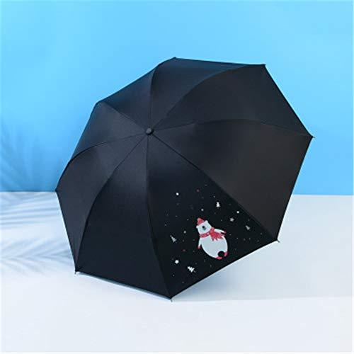 YuYa Sonnenschirm Cartoon Bär Kreativer Sonnenschirm Regenschirm Taschenschirm 09 96cm