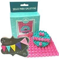 La Botica del Pastelero Tampons décoratifs pour personnaliser vos biscuits et gâteaux maison (lettres, chiffres et…