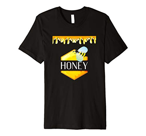 Honeypot Jar of Honey Halloween Costume Bee T-Shirt