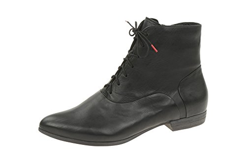 Think! Damen Bussi Desert Boots Schwarz