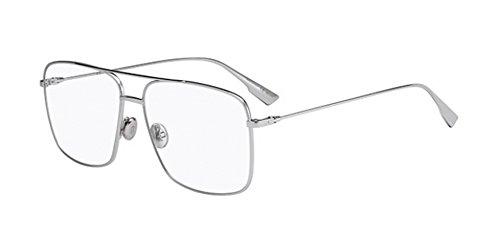Christian Dior Damen Sonnenbrille DIORSTELLAIREO3 010 57 Silber (Palladium),